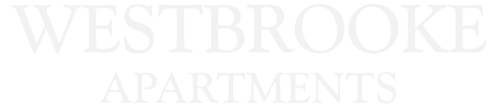 Westbrooke Apartments Logo